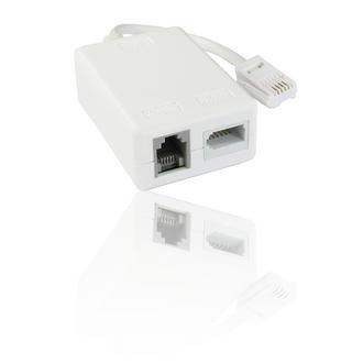 10 x ADSL Leaded Microfilter use with BT/TalkTalk/PlusNet Broadband ADSL Router